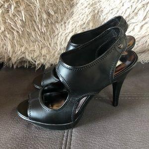 SIMPLY VERA VERA WANG Platform Heeled Sandals S8